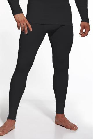 Pánské podvlékací kalhoty Cornette Authentic černé