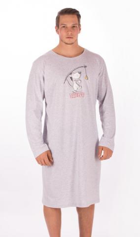 Pánská noční košile s dlouhým rukávem Vienetta Secret Sleepwalker