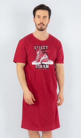 Pánská noční košile Vienetta Secret Tenisky