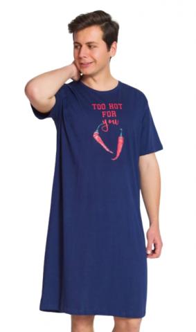 Pánská noční košile Vienetta Secret Chilli
