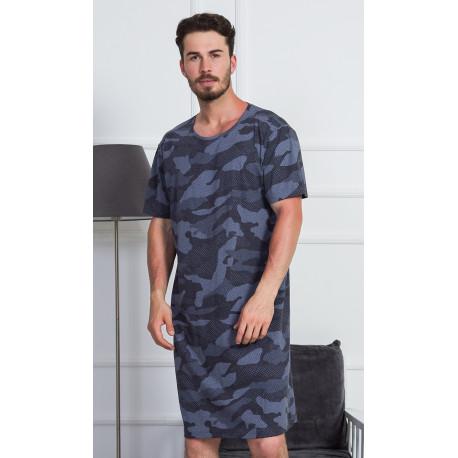 Pánská noční košile Vienetta Secret Military