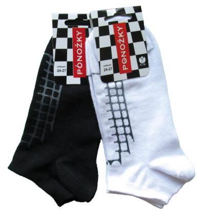 Pánské a dámské kotníkové ponožky Novia 401N