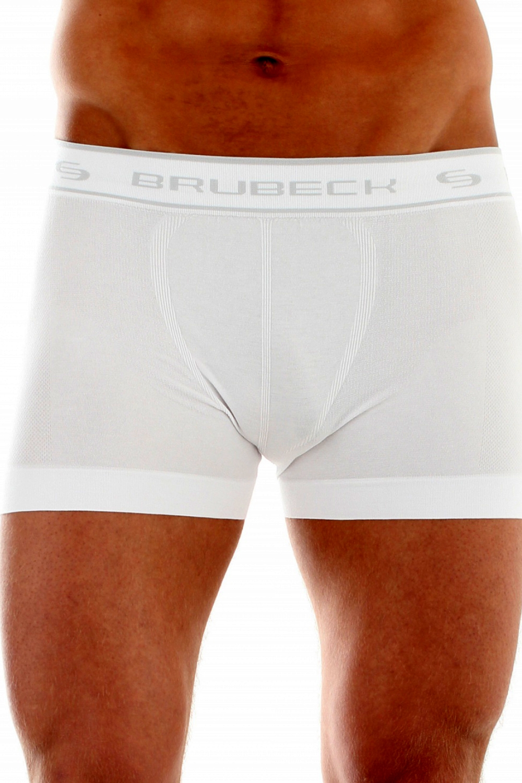 Pánské boxerky Brubeck 00501A bílé
