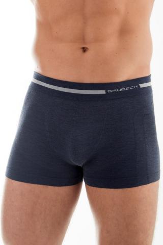 Pánské boxerky Brubeck Wool BX 10430 C.Jeans