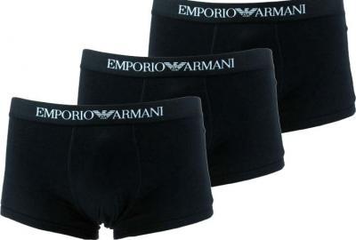 Pánské boxerky Emporio Armani 111610 CC722 3PACK