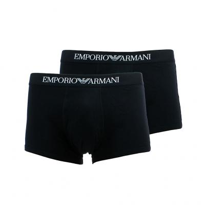 Pánské boxerky Emporio Armani 111613 CC722 2PACK