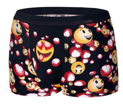 Pánské boxery 010/66 Cornette Emoticon