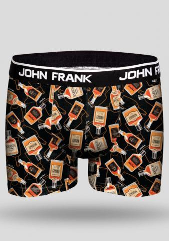 Pánské boxery John Frank JFBD249 whiskey