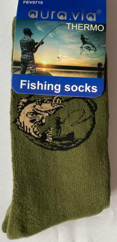 Pánské ponožky Auravia Rybář thermo