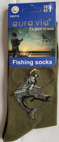 Pánské ponožky Auravia Rybář