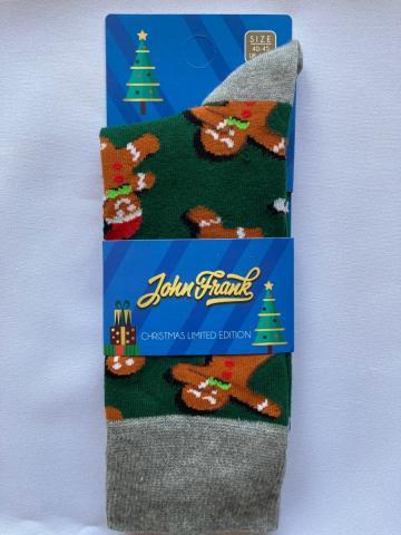 Pánské ponožky John Frank CH11 Perníček