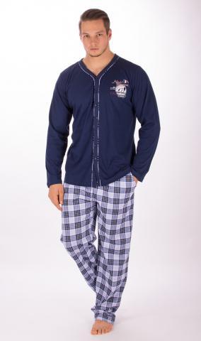 Pánské propínací pyžamo Vienetta Secret Richard