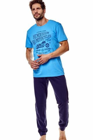 Pánské pyžamo 36204 Force blue