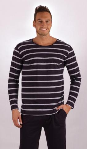 Pánské pyžamo dlouhé Vienetta Secret Libor