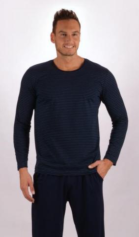 Pánské pyžamo dlouhé Vienetta Secret Šimon