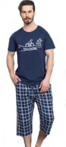 Pánské pyžamo kapri Vienetta Secret Triatlon