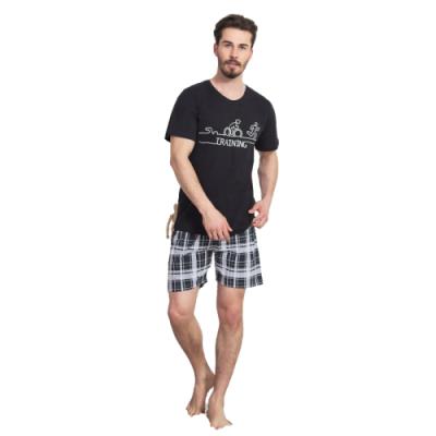 Pánské pyžamo šortkové Vienetta Secret Training