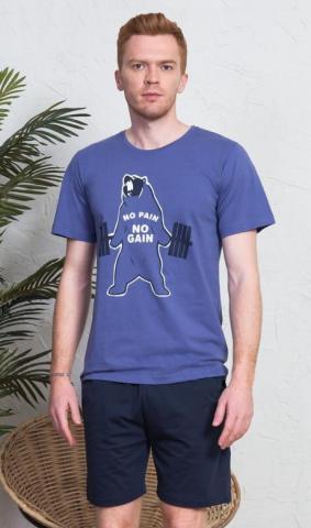 Pánské pyžamo šortky Medvěd