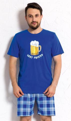 Pánské pyžamo šortky Vienetta Secret Velké pivo