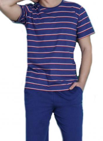 Pánské pyžamo Vienetta Secret Luboš modré