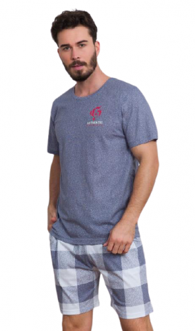 Pánské šortkové pyžamo Vienetta Secret Alfréd
