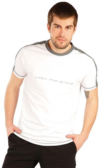 Pánské tričkko Litex 80193 bílé