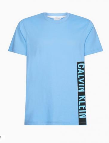 Pánské tričko Calvin Klein KM00481 modrá