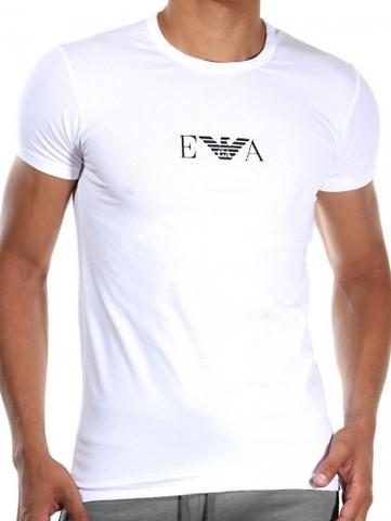 Pánské tričko Emporio Armani 111267 CC715 bílá