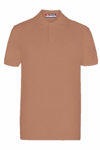 Pánské tričko Esotiq 19406 hnědé