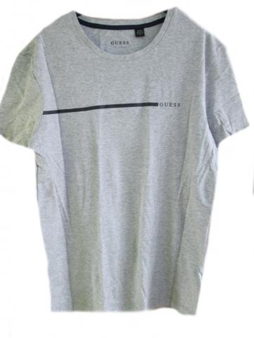 Pánské triko GUESS U92G10 šedé