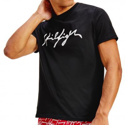Pánské triko Tommy Hilfiger UM0UM02109 černá