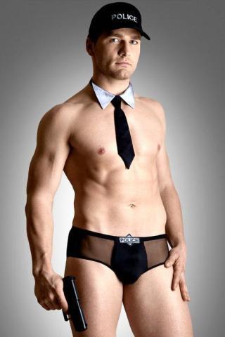 Pánský erotický kostým Softline collection Policeman set