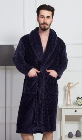 Pánský župan se šálovým límcem Vienetta Secret Dominik