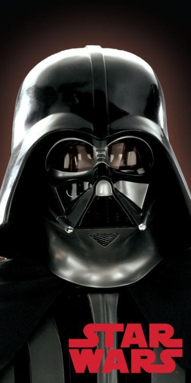 Plážová osuška Star wars Dart Vader 02 70x140 cm