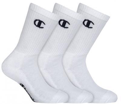 Ponožky UNISEX Champion 8QG 3PACK bílá