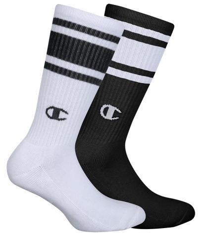 Ponožky Unisex Champion 8SU 2PACK bílá/černá
