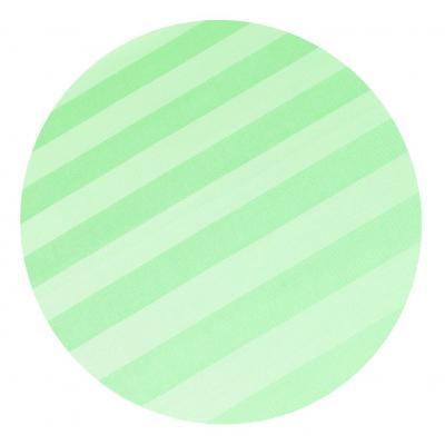 Povlečení atlas grádl zelený proužek 2,5 cm