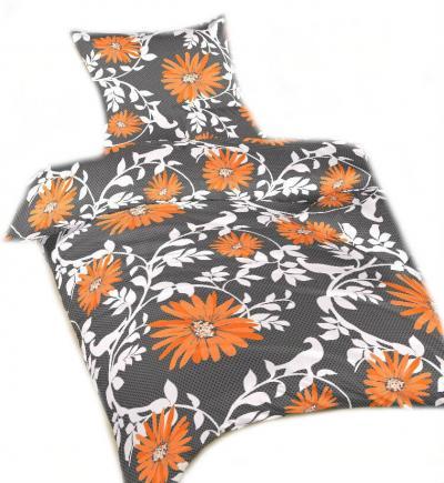 Povlečení bavlna Lola oranžová