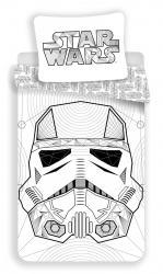 Povlečení bavlna Star Wars White