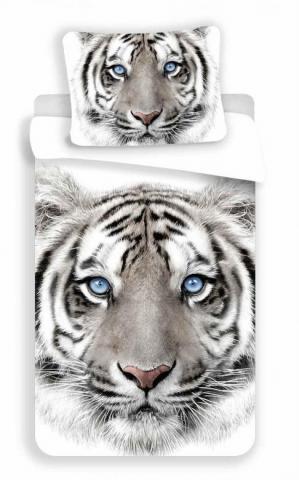 Povlečení fototisk White Tygr
