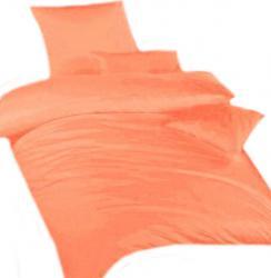 Povlečení krep světle oranžové
