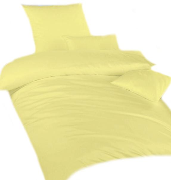 Povlečení krep žlutá UNI