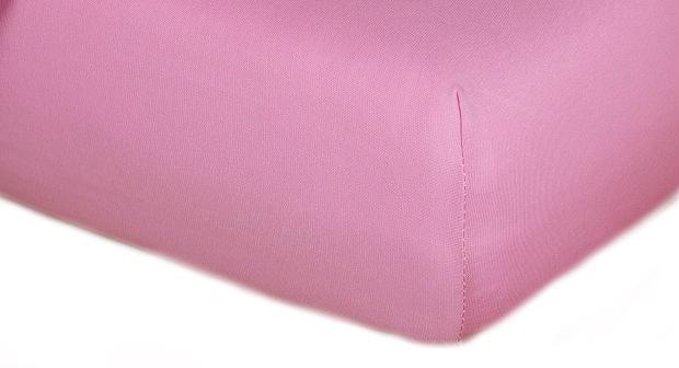 Prostěradla jersey - růžová
