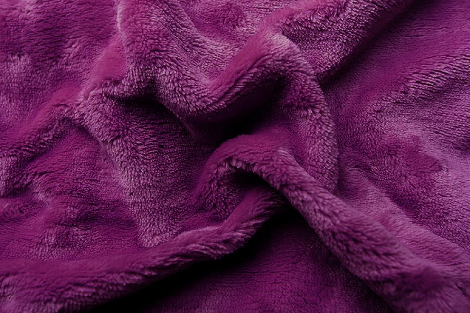 Prostěradlo mikroflanel fialová tmavá