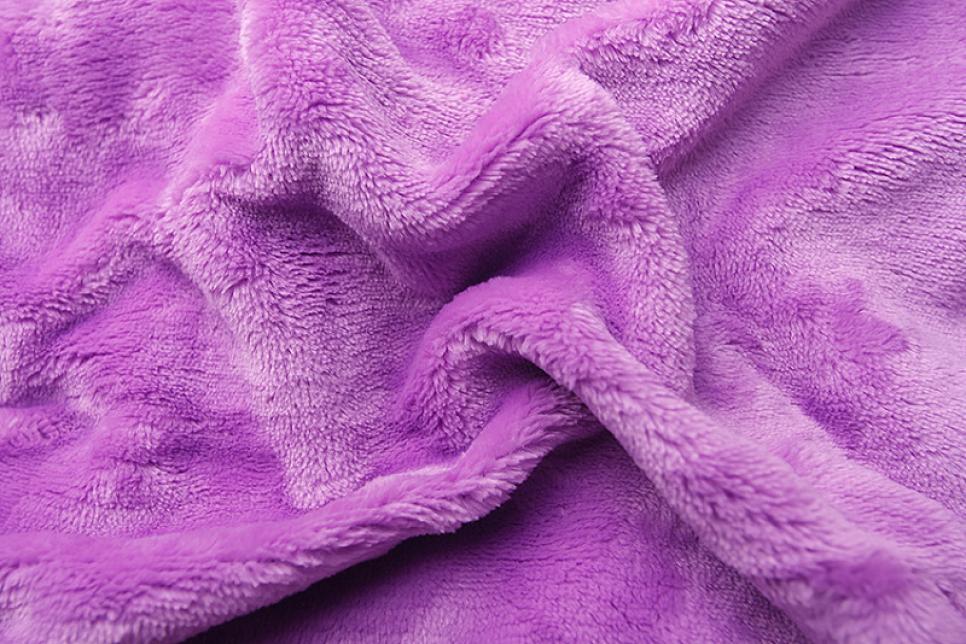 Prostěradlo mikroflanel fialová