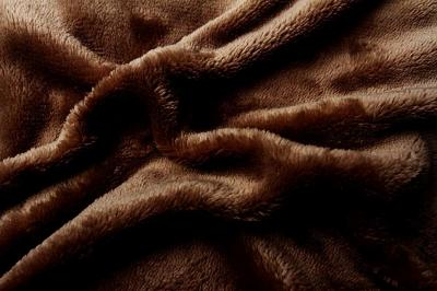 Prostěradlo mikroflanel hnědá (tmavě)
