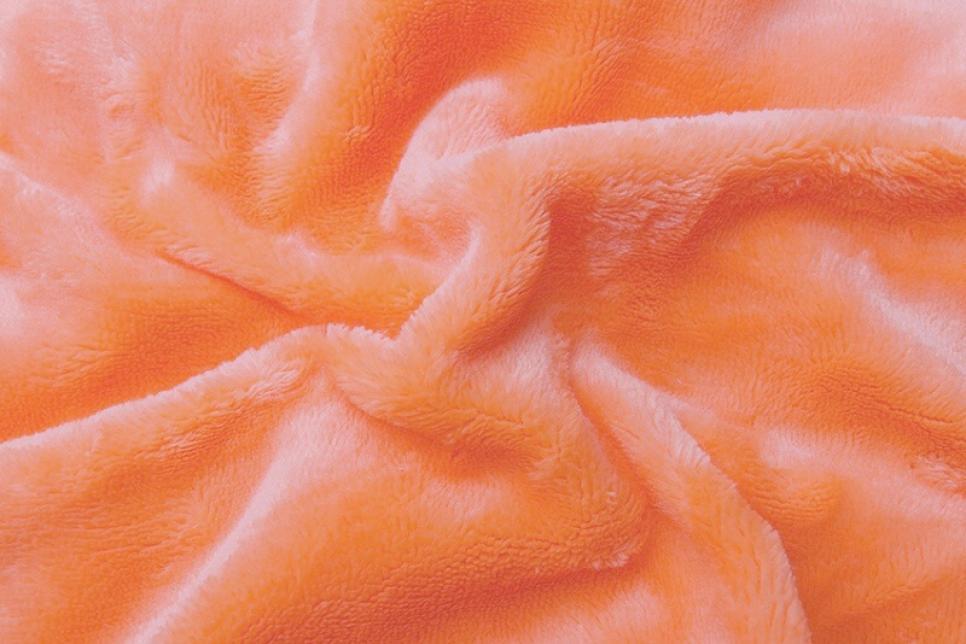 Prostěradlo mikroflanel lososová