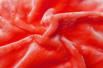 Prostěradlo mikroflanel oranžová (červený grep)