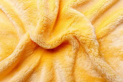 Prostěradlo mikroflanel žluté
