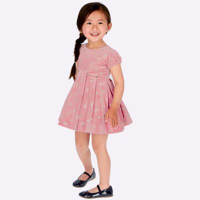 Sametové šaty  MAYORAL 4915
